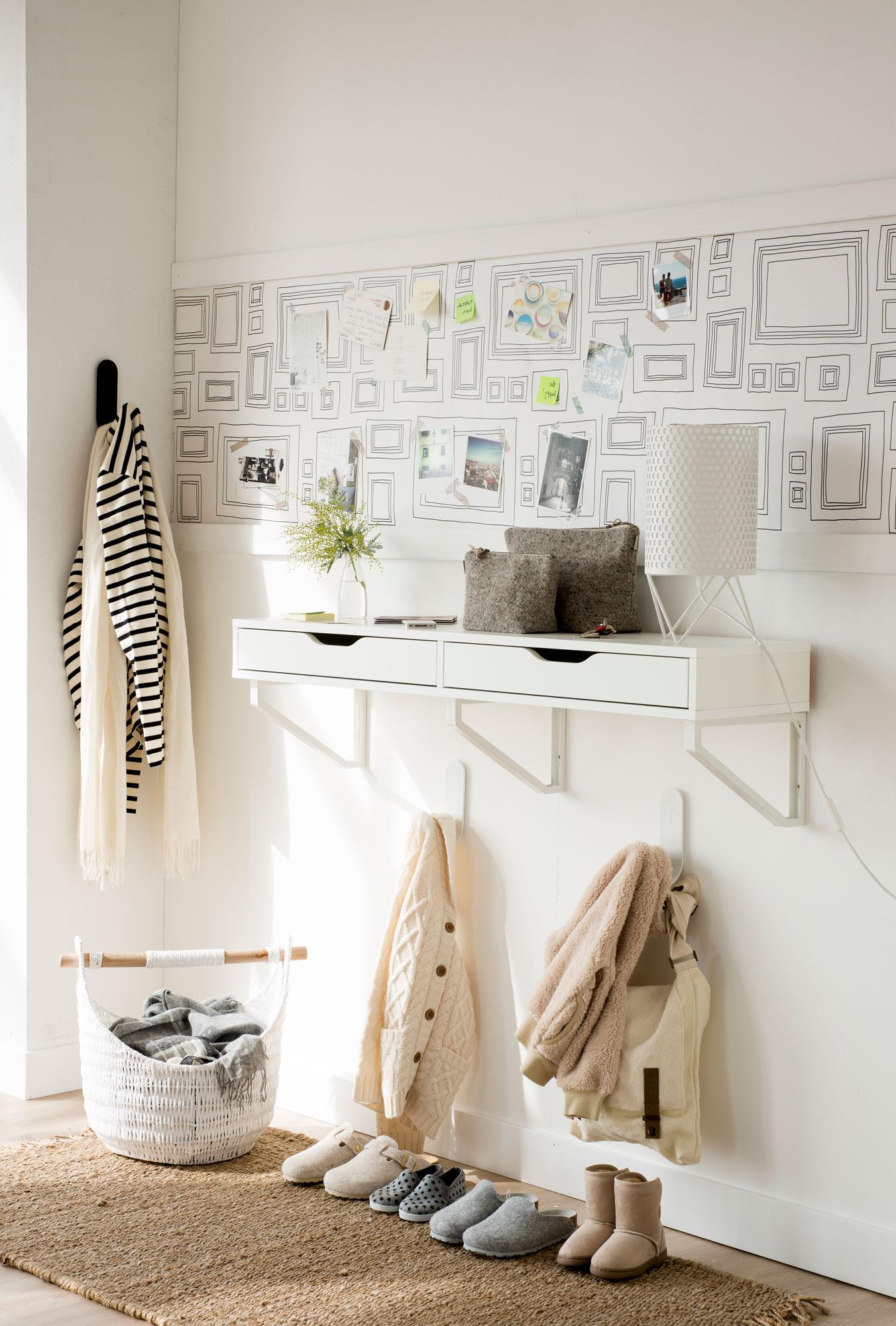 Muebles De Entrada Blancos J7do 7 Ideas Con Las Que Sacarle Mayor Partido A Tu Recibidor Pequeà O