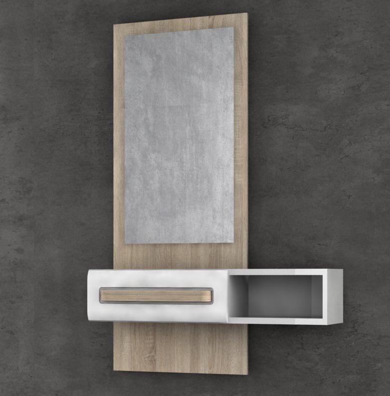 Muebles De Entrada Blancos J7do Muebles Recibidores Conforama