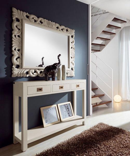 Muebles De Entrada Blancos T8dj Consola 3 Cajones astt Blog De Artesania Y Decoracion
