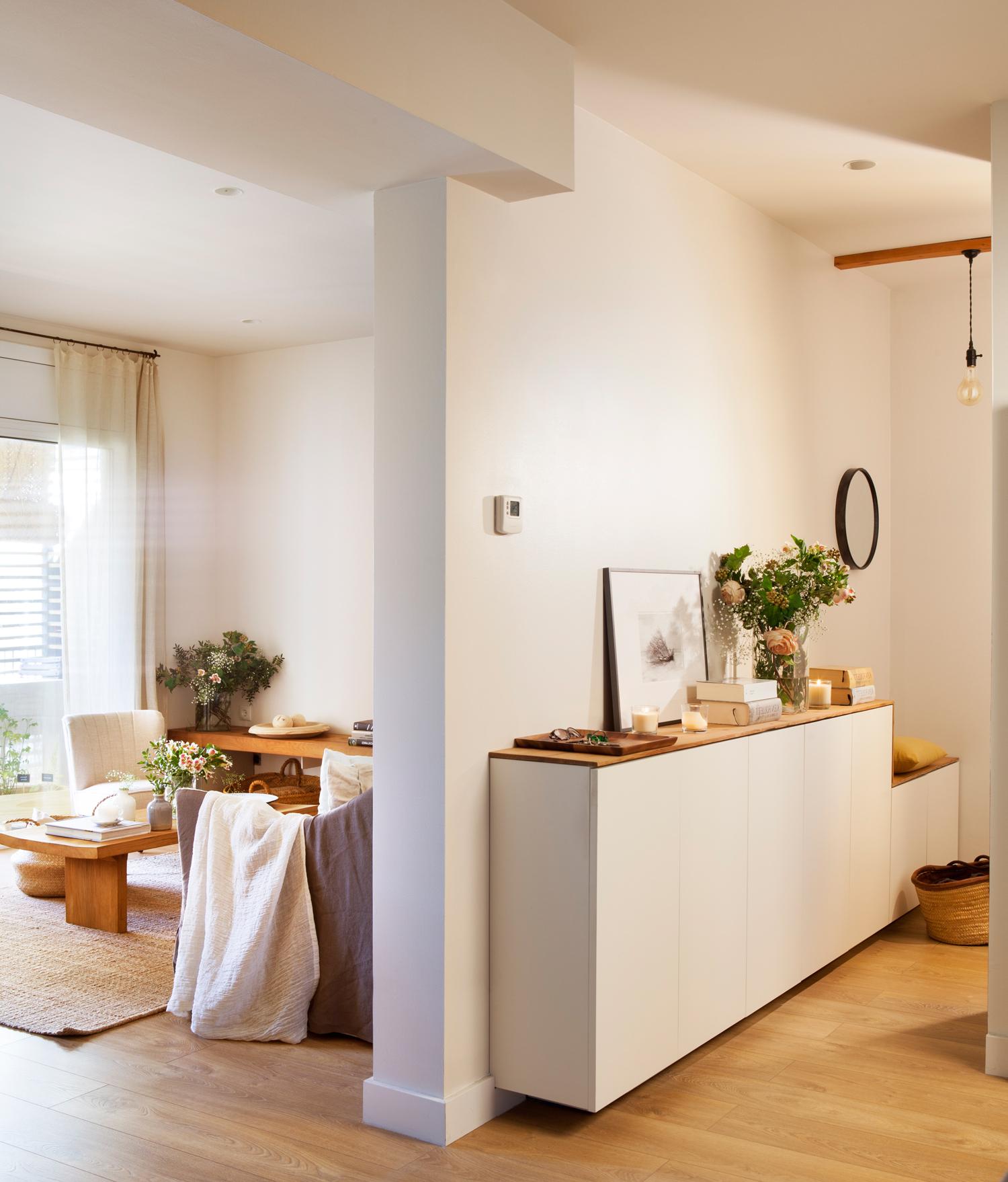 Muebles De Entrada Blancos Y7du Los Mejores Recibidores Decorados En Blanco Y Madera
