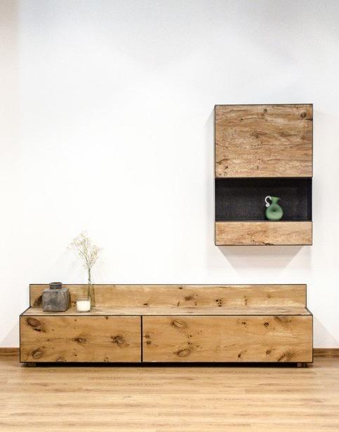 Muebles De Madera Natural Budm Conjunto Para Salà N
