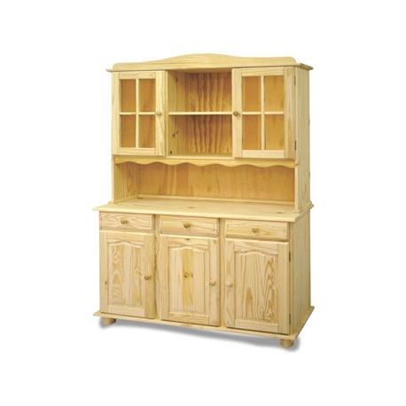 Muebles De Madera Natural Ffdn Mueble Alacena Elaborado En Madera De Pino Con 5 Puertas Natural 42 X 130 X 197 Cm