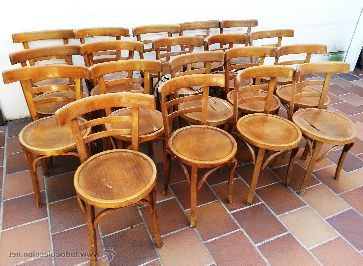 Muebles De Ocasion S5d8 Ocasion Lote De 22 Sillas De Bar Antiguas Ac Prar Muebles