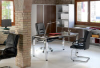 Muebles De Oficina Madrid Tldn Mesas De Trabajo Enfrentadas Con Separador A Juego Muebles De Oficina