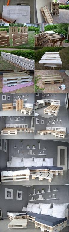 Muebles De Palets Baratos S1du Ideas Y Diseà Os Para Hacer Muebles Con Palets Diy Bloghogar