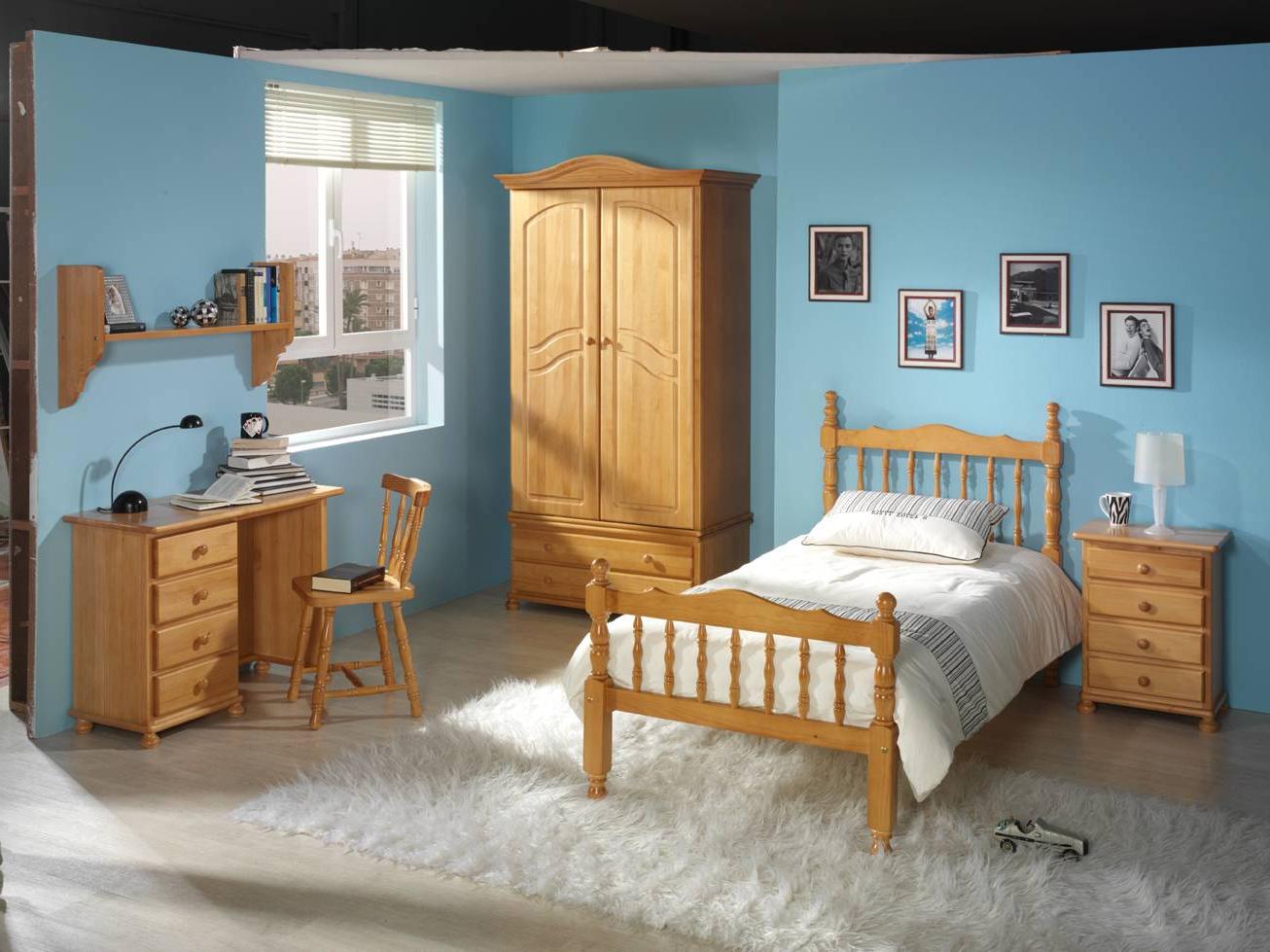 Muebles De Pino Color Miel Y7du Cama Pino torneada Dormitorios Juvenil Online Muebles Online