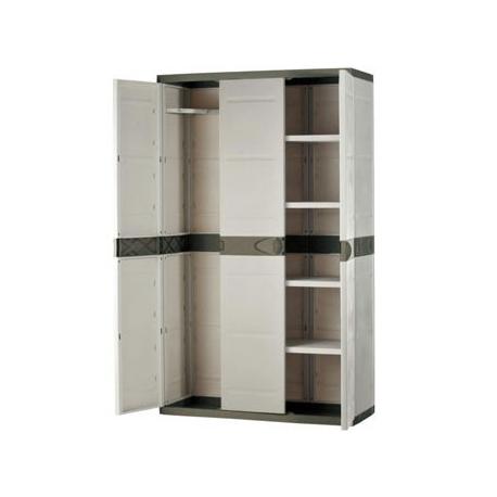 Muebles De Resina Budm Armario De Resina Plastiken Plastek 9201 176 X 105 X 44 Cm Plastiken