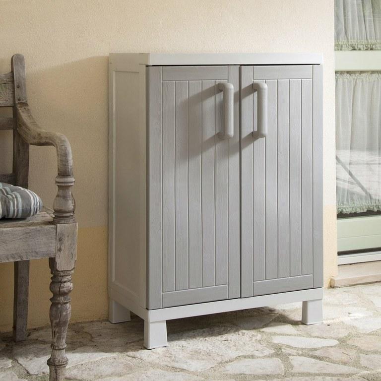 Muebles De Resina Ffdn Armario De Resina Wood Line S 65x37x85cm toomax Jardinitis
