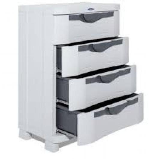 Muebles De Resina Jxdu Cajonera Resina De 4 Cajones Ken Armarios De Resina Y Metalicos De