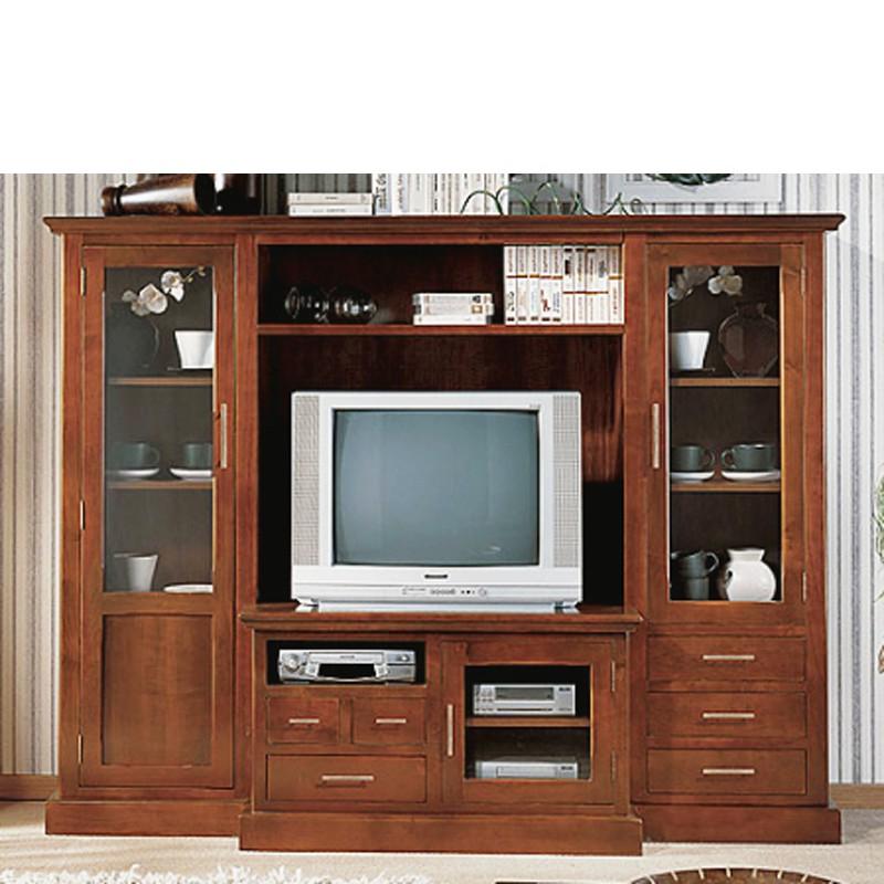 Muebles De Salon Clasicos Precios Q0d4 Mueble De Tv En Madera De Cerezo Macizo