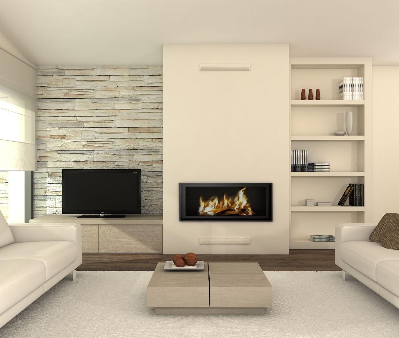 Muebles De Salon Con Chimenea Integrada 0gdr Minimalist Fireplace D A Great Neutral Color Scheme for Overall
