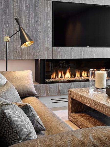 Muebles De Salon Con Chimenea Integrada 3id6 Una Casa Familiar Con Terraza Y Mucho Diseà O Casa Pinterest