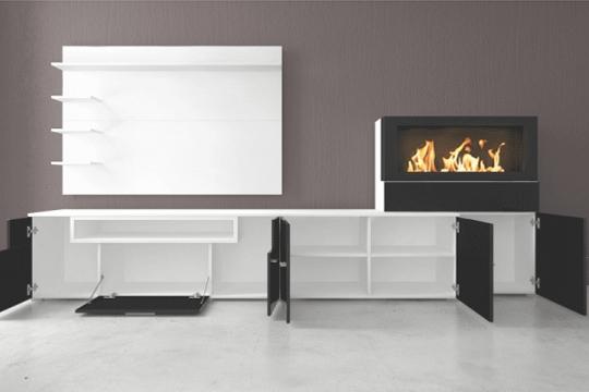 Muebles De Salon Con Chimenea Integrada 3ldq Muebles Colectivia Mueble De Salà N Olympo Con Chimenea Integrada