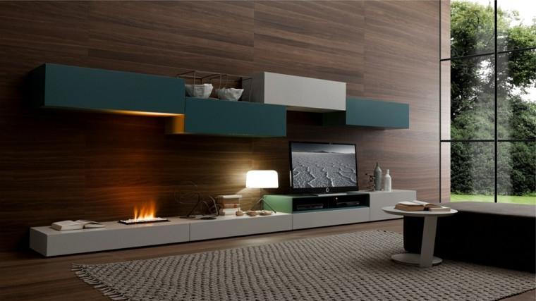 Muebles De Salon Con Chimenea Integrada Bqdd Salones Con Chimenea Cincuenta Diseà Os Acogedores