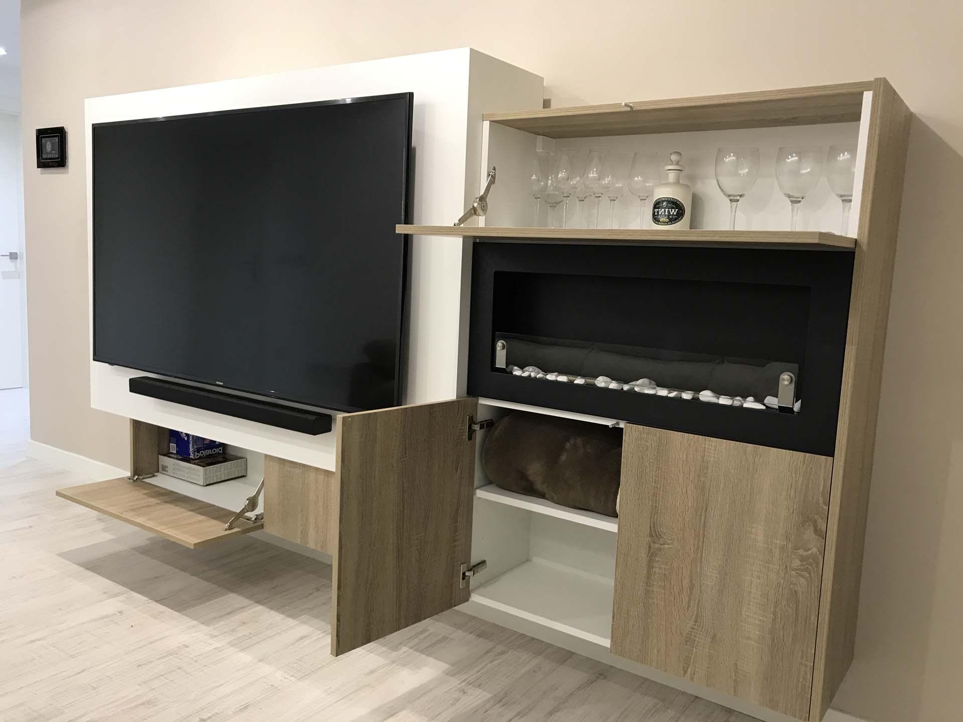 Muebles De Salon Con Chimenea Integrada E6d5 Mueble Salon Con Chimenea Los Mejores 50 Salones De El Mueble