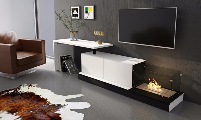 Muebles De Salon Con Chimenea Integrada Q0d4 Hasta 50 Dto Mueble De Salà N Con Chimenea Groupon