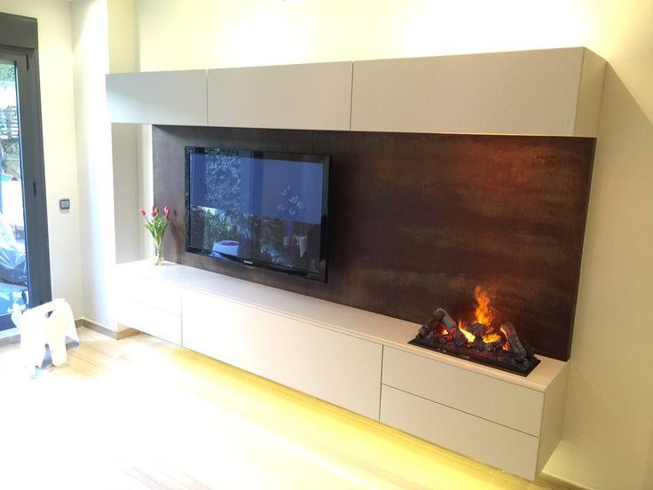Muebles De Salon Con Chimenea Integrada Q5df Mueble Con Chimenea Oportunidad Mueble Chimenea Electrico Usa with