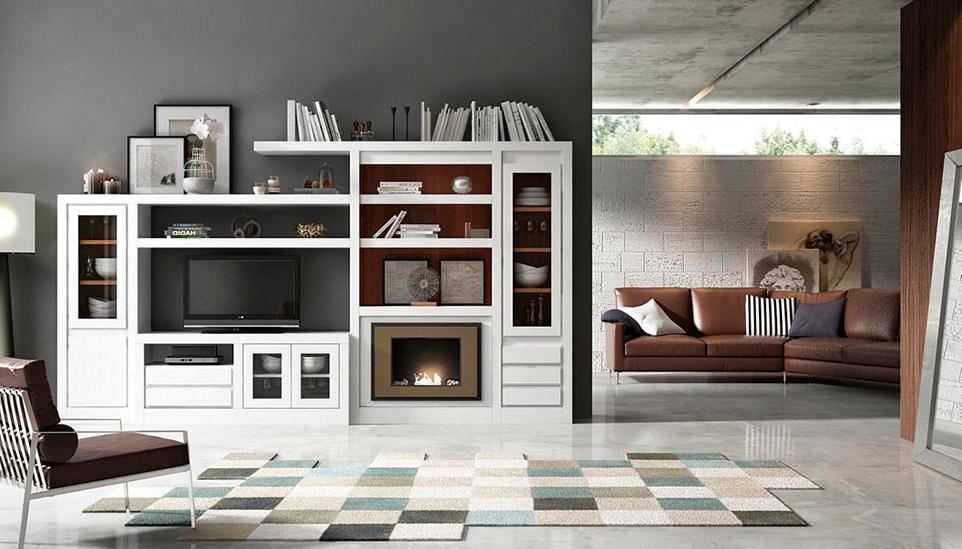 Muebles De Salon Con Chimenea Integrada S5d8 Coleccià N Neoss formas