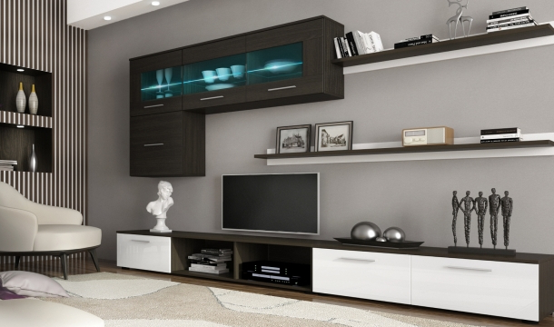 Muebles De Salon Con Chimenea Integrada Xtd6 Prar Muebles De Salà N Mesa Consola Extensible Mueble Tv Led