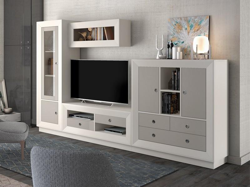 Muebles De Salon Merkamueble 0gdr Salà N Modular Madera Natural Diseà O Moderno Colores Beige arena