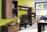 Muebles De Salon Modulares 0gdr Mueble Modular Para Salà N Fargo Mueble Melamina Nogal Y Negro