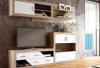 Muebles De Salon Modulares E6d5 Muebles Salà N Edor De Color Roble Y Blanco Modulares