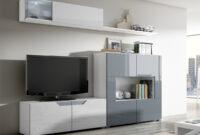 Muebles De Salon Modulares Ipdd Mueble De Salon Modular Mueble De Salà N Fuego Blanco Brillante