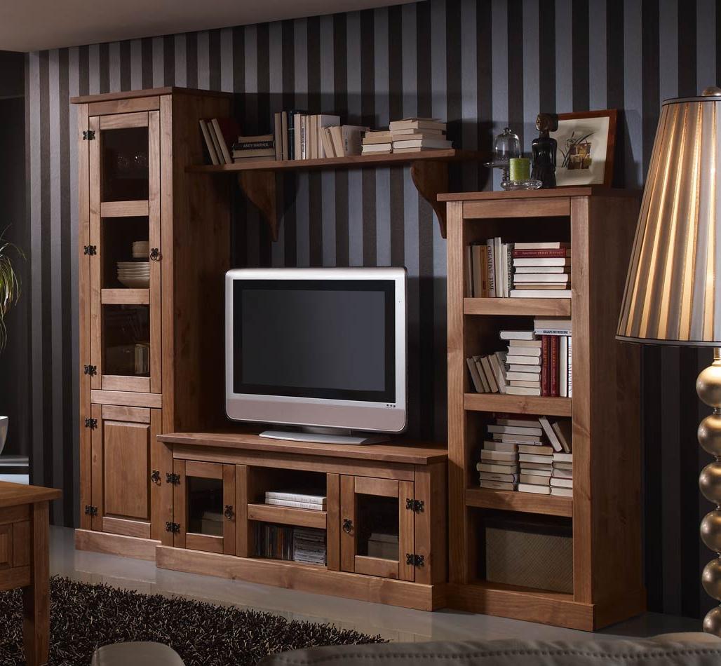 Muebles De Salon Rusticos 8ydm Mueble De Salà N Rústico Kabire De à Mbar Muebles