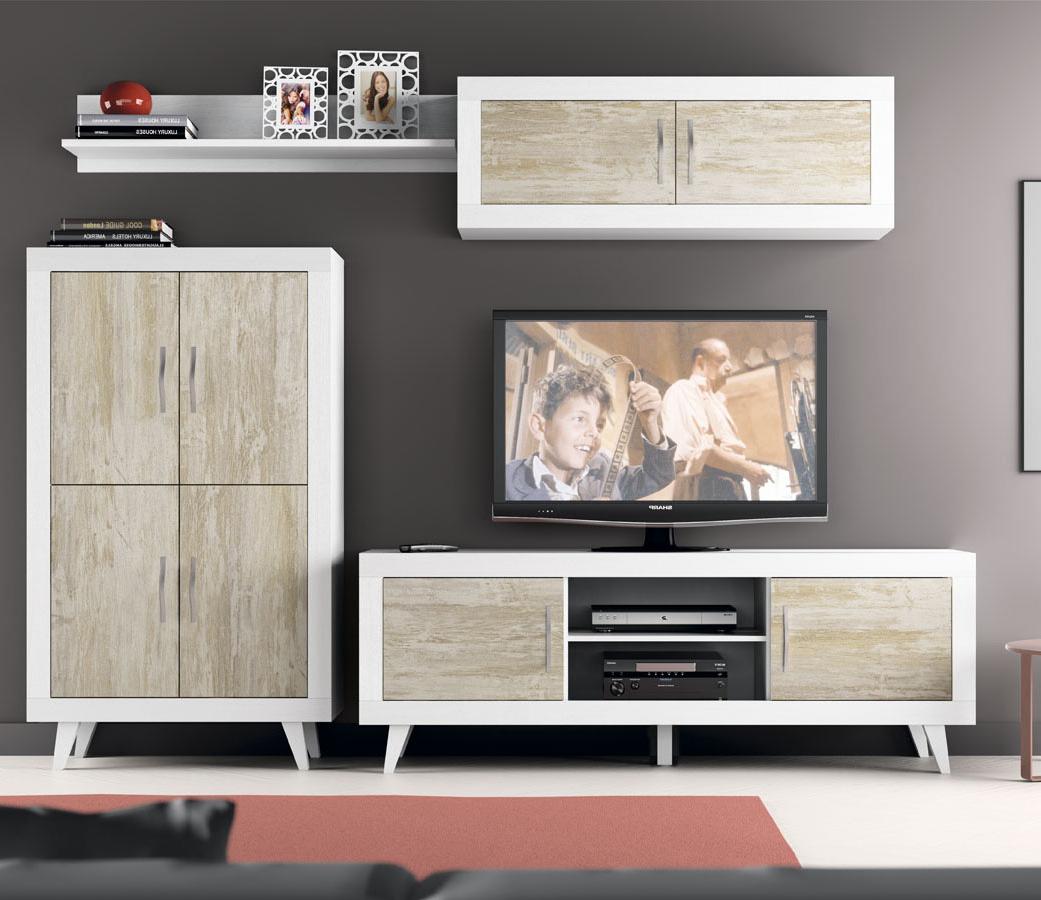 Muebles De Salon Vintage 0gdr Mueble Para Salon La Coleccion River En Color Blanco Y Vintage