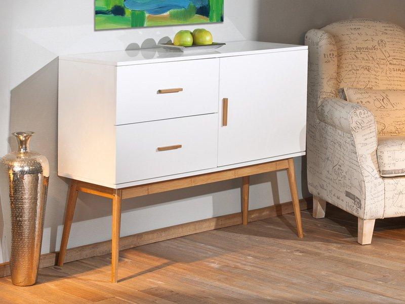 Muebles De Salon Vintage Ipdd Mueble Aparador Vintage En Nogal Y Blanco Para El Salà N En Oferta