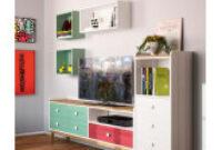 Muebles De Salon Vintage Nkde Modular De Salà N Rústico Nieva De à Mbar Muebles