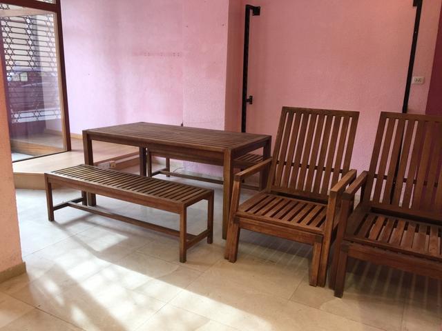 Muebles De Teka Ipdd Conjunto Muebles Jardin Teka De Segunda Mano Por 690 En Vilassar