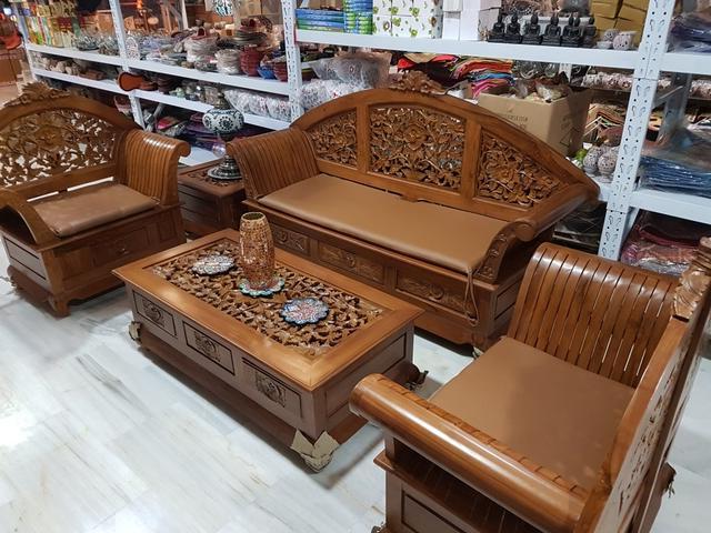 Muebles De Teka Rldj Conjunto Muebles Salon Madera Teka De Segunda Mano Por 2 499 En