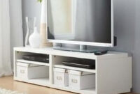 Muebles De Tv Ikea Irdz Mueble Tv Ikea Blanco 4 100 00 En Mercado Libre