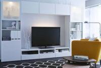 Muebles De Tv Ikea Qwdq Decoracià N 15 Posiciones De Muebles Tv Con La Serie Besta De Ikea