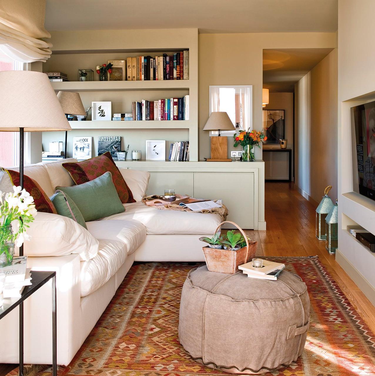 Muebles Decoracion 87dx 30 Salones Pequeà Os Bien Aprovechados Con Muchas Ideas Y Trucos