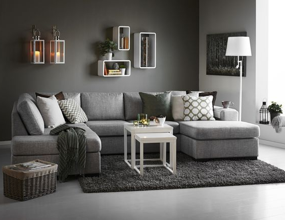 Muebles Decoracion Tqd3 Ideas De Decoracià N En tonos Grises Y Maderas Contemporà Neo