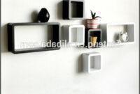 Muebles En La Pared Fmdf Muebles De Sala Decoracià N De La Pared 6 Unidades Negro Blanco