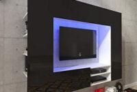 Muebles En La Pared Q0d4 Festnight Mueble De Pared Para Televisià N Mueble Salà N Moderno 169 2