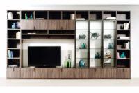 Muebles En La Pared Txdf Muebles Modulares De Pared De Mdf Con soporte Para Tv Archiproducts