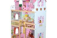 Muebles En Miniatura Para Casas De Muñecas 3ldq BoppiCasa De Muà Ecas De Madera Para Nià as 3 Pisos Y 17 Accesorios Muebles Para Jugar