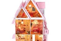 Muebles En Miniatura Para Casas De Muñecas 8ydm Casa De Muà Ecas De Madera Amueblada Regalos Curiosos