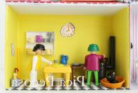 Muebles En Miniatura Para Casas De Muñecas 8ydm Construye Una Casa Para Los Playmobil Con Cajas De Zapatos