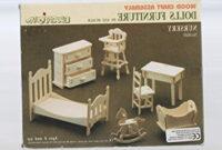 Muebles En Miniatura Para Casas De Muñecas Drdp Casa De Muà Ecas Madera Muebles De Bebà S Kit 1 12 Escala 6 Aà Os