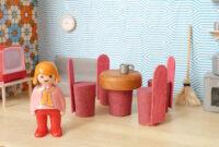 Muebles En Miniatura Para Casas De Muñecas Drdp Casa De Muà Ecas Reciclando Cajas La Casa atelier