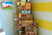 Muebles En Miniatura Para Casas De Muñecas Dwdk Casas Para Muà Ecas Recicladas Con Cajas De Cartà N