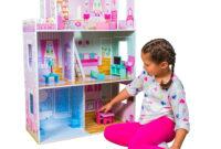 Muebles En Miniatura Para Casas De Muñecas Ftd8 BoppiCasa De Muà Ecas De Madera Para Nià as Con 3 Pisos 15 Muebles Para Jugar