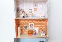 Muebles En Miniatura Para Casas De Muñecas Q5df Casa De Muà Ecas Reciclando Cajas La Casa atelier