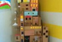 Muebles En Miniatura Para Casas De Muñecas Txdf Casas Para Muà Ecas Recicladas Con Cajas De Cartà N