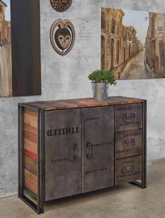 Muebles Estilo Industrial Vintage 87dx Mueble Aparador Cerrado De Estilo Industrial Edito Diseà O Y Calidad
